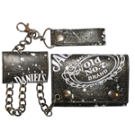 Jack Daniel's - Painted Trifold Chain Wallet