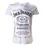Jack Daniel's - White. Logo Men's Shirt