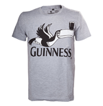 Guinness T-Shirt Grey Melange Toucan
