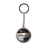 Fallout 4 - Nuka Cola Bottle Cap Metal Keychain