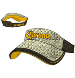 Corona - Straw & Brown Mesh Visor