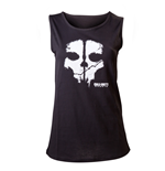 Call Of Duty Ghosts - Black. Skull Tank Top