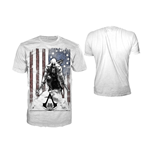 Assassin's Creed III - Burned Flag T-shirt