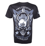 Alchemy - AEA Mens T-Shirt Satan's Shield Solid