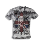 "Alchemy - Vintage t-shirt "" Ace of England Skull"""