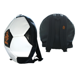 KNVB - Soccer Backpack. Black/White