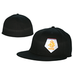 KNVB - Flexible Widebill White Logo. Black