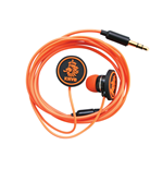 KNVB - Earbuds Black/Orange