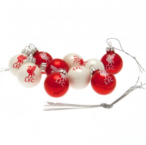 Liverpool F.C. 10pk Mini Baubles