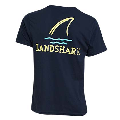 LANDSHARK Neon Lights Tee Shirt