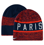 2016-2017 PSG Nike Reversible Beanie (Red-Navy)