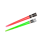 Star Wars Chopstick Darth Vader & Luke Skywalker Lightsaber Chopstick Battle 2-Set