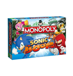 Sonic Boom Board Game Monopoly *German Version*