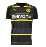 2016-2017 Borussia Dortmund Puma Away Football Shirt