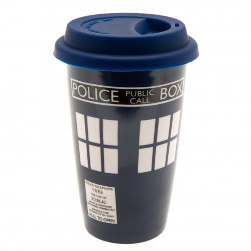 Doctor Who Ceramic Travel Mug