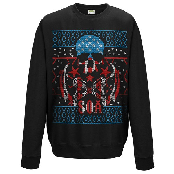 Sons Of Anarchy Sweatshirt Christmas Reaper