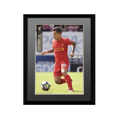Liverpool F.C. Picture Coutinho 8 x 6