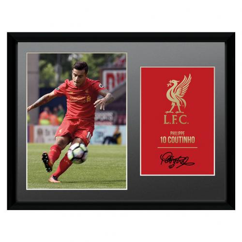 Liverpool F.C. Picture Coutinho 16 x 12