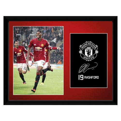 Manchester United F.C. Picture Rashford 16 x 12