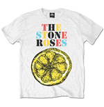 The Stone Roses Men's Tee: Logo Lemon Multicolour