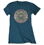 The Beatles Ladies Tee: Sgt Pepper Drum