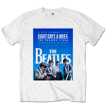 The Beatles Mens Tee: 8 Days a Week Movie Poster