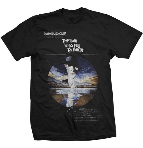 StudioCanal Men's Tee: The Man Who Fell To Earth