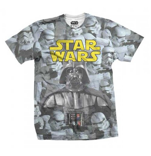 Star Wars  Premium Tee: Imperial Photo Montage