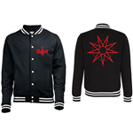 Slipknot Men's Varsity Jacket: Logo & 9 Point Star
