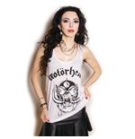 Motorhead Ladies Vest Tee: War Pig