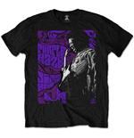 Jimi Hendrix Men's Tee: Purple Haze