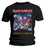 Iron Maiden Men's Tee: Legacy of the Beast