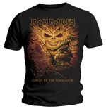 Iron Maiden Mens Tee: Ghost of the Navigator