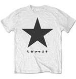 David Bowie Men's Tee: Blackstar (on White)