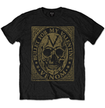 Bullet For My Valentine Men's Tee: Venom Skull