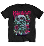 Bullet For My Valentine Men's Tee: Skull Red Eyes