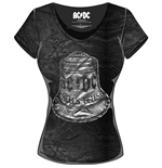 AC/DC Ladies Fashion Tee: Hells Bells