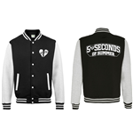 5 Seconds of Summer Men's Varsity Jacket: Collegiate Logo