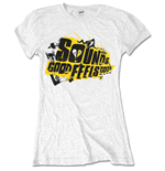 5 Seconds of Summer Ladies Tee: Sounds Good Album