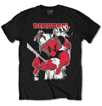 Marvel Comics Mens Tee: Deadpool Max