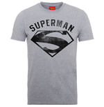 DC Comics Men's Tee: Superman Logo Spray