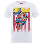 DC Comics Men's Tee: Superman US Flight