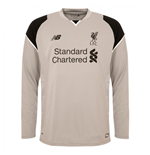 2016-2017 Liverpool Third Long Sleeve Goalkeeper Shirt (Alloy)
