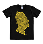 Simpsons T-Shirt Homer Head In Words