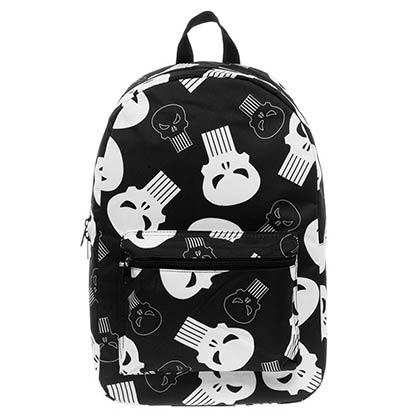 PUNISHER Sublimated Black Backpack