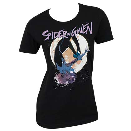 Spider Gwen Juniors Tee Shirt