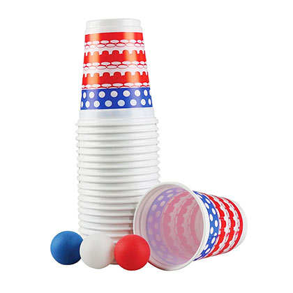 USA Beer Pong Set