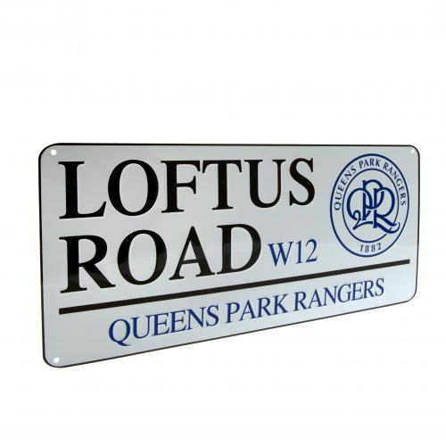 Queens Park Rangers F.C. Street Sign RC