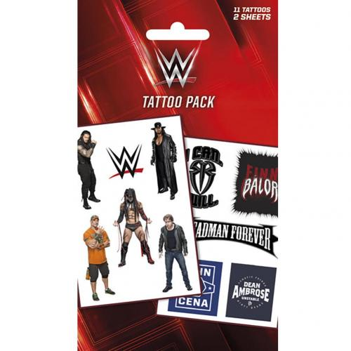 WWE Tattoo Pack