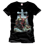Marvel Comics T-Shirt Deadpool Tombstone